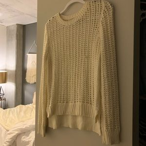 Michael Kors White Knitted Sweater